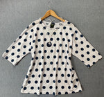Pure Essence Big dot pull over top
