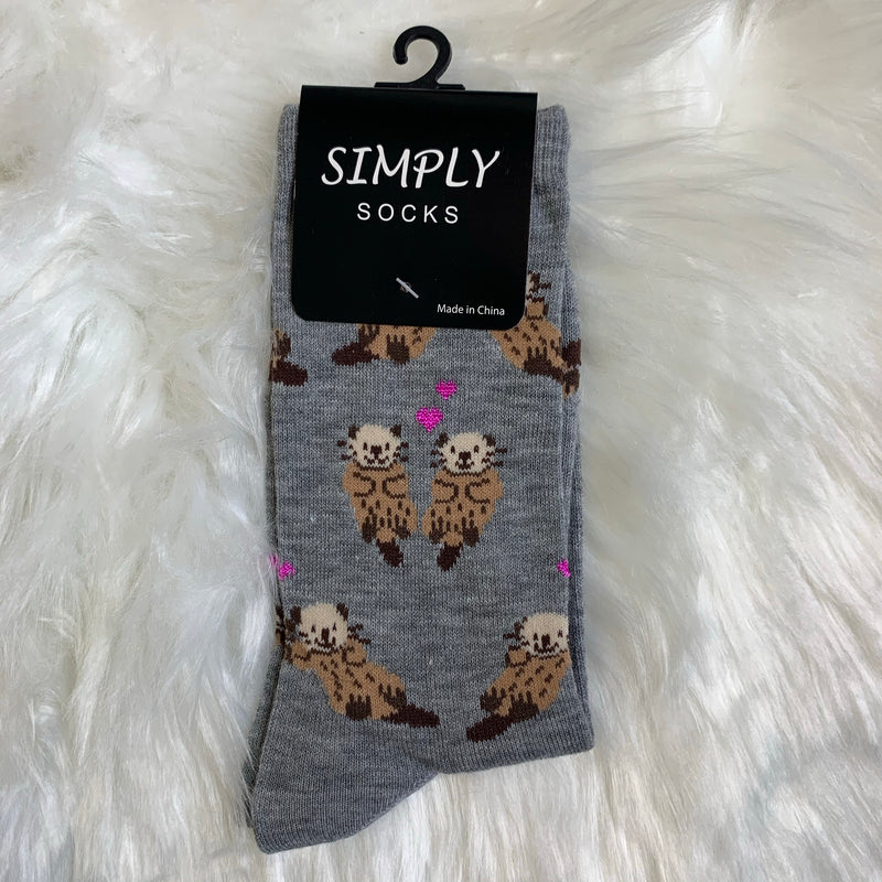 Simply Socks: Otters