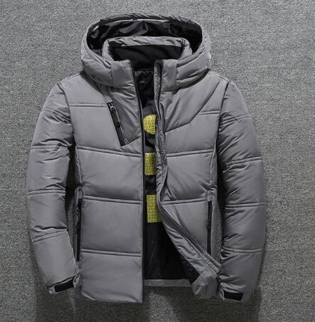 White Down Jackets Men Warm