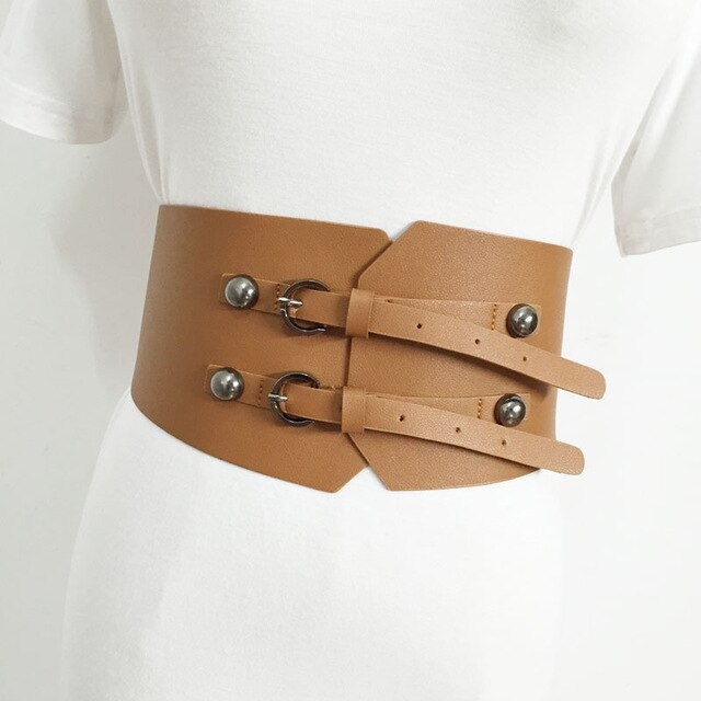 Corset leather Belts