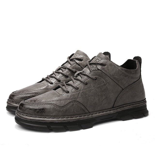 England Luxury Leather Shoes Men