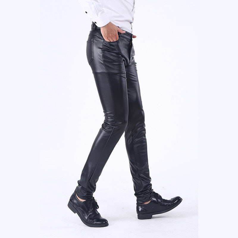 Leather Pants Jeans Trousers