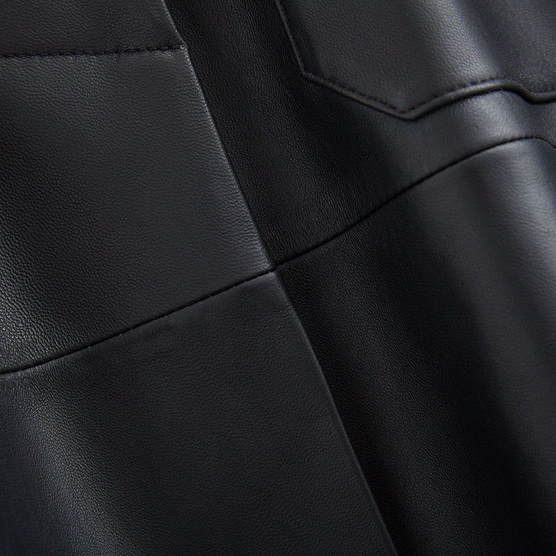 leather clothes for women