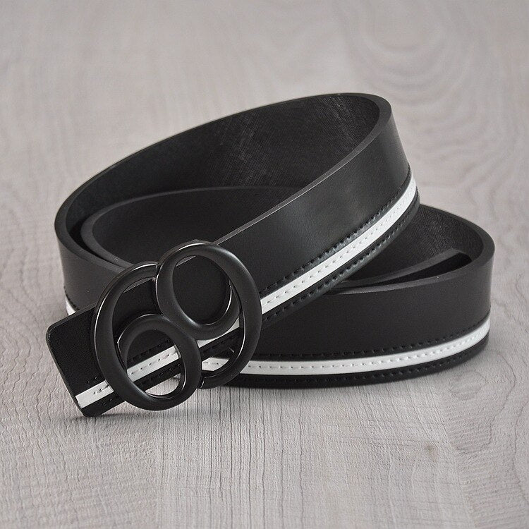 cowhide leather belt