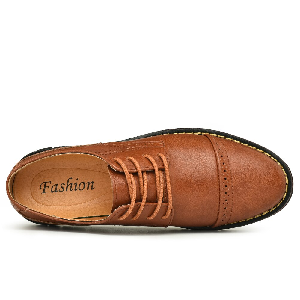 Genuine leather shoes men