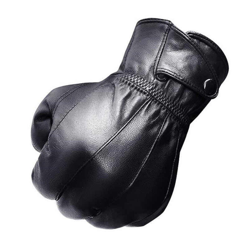 Men's Fashion Genuine Leather Gloves
