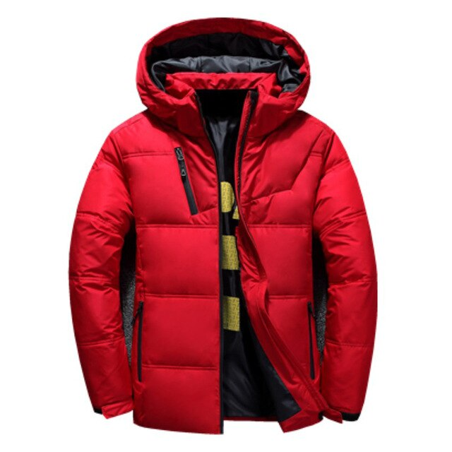 White Down Jacket Men