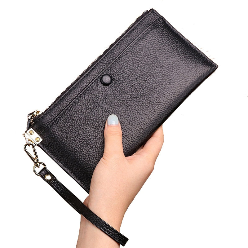 Genuine Leather Women Wallets