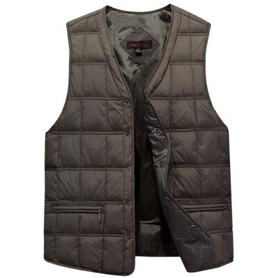 Thick Sleeveless Down Jacket