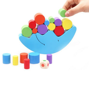 Montessori Moon Stacking Balance Game for Early Learning Development