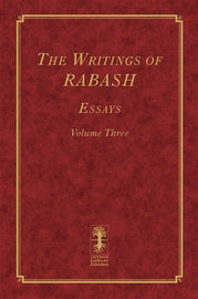 The Writings of RABASH - Essays - Volume Three (E-Book)