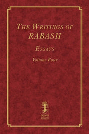 The Writings of RABASH - Essays - Volume Four (E-Book)