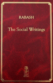 Rabash - The Social Writings