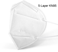 5-Layer KN-95 Mask Reusable
