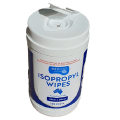 Isopropyl Wipes canister With Flip Top Lid