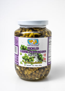 Pickled Green Peppercorns