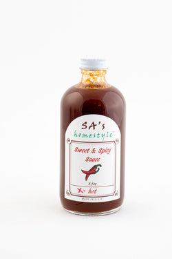 Copy of SA's Homestyle Sweet & Spicy Sauce - Xtra Hot