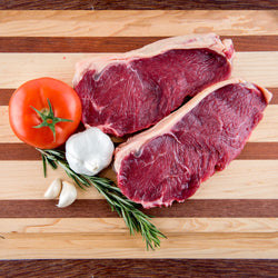 Grass Fed Angus Strip Steaks