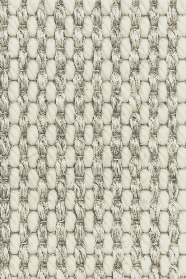 Mecca - Beige mix wol en sisal vloerkleed - Wool & Wire