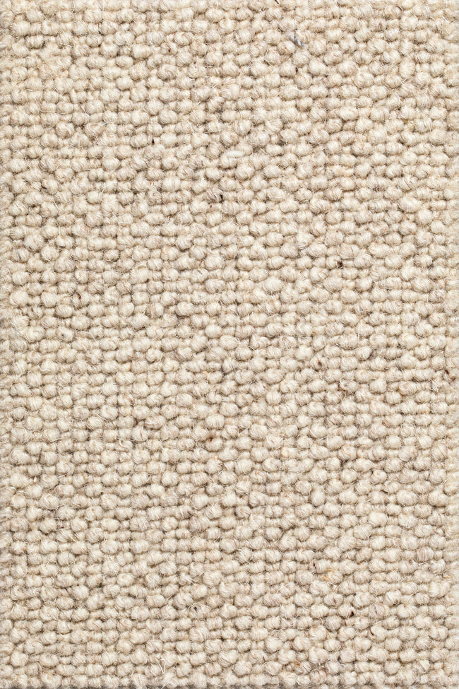 Stockholm - Beige wollen vloerkleed - Wool & Wire