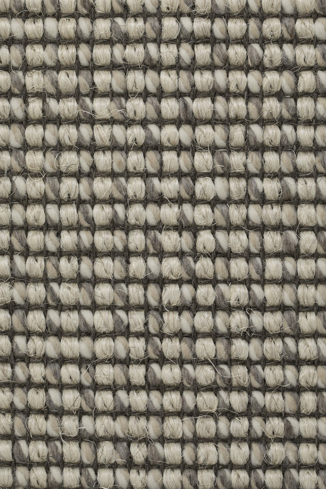 Kanpur - Beige mix wol en sisal vloerkleed - Wool & Wire