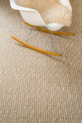Surat - Grijs mix wol en sisal vloerkleed - Wool & Wire