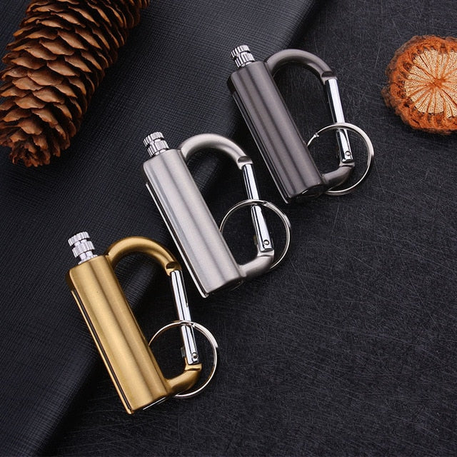 Permanent Reusable Endless Matches Keychain Lighter