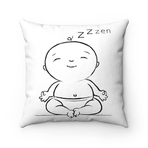Load image into Gallery viewer, Baby Yogis Decorative Pillow, Lotus Pose, Baby In Zen