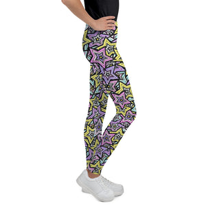 Rock Stars, Kids/Teen Leggings