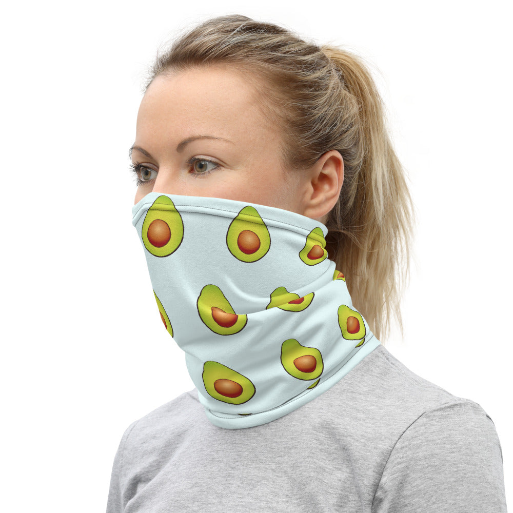 Load image into Gallery viewer, Avocado Face Cover/Neck Gaiter