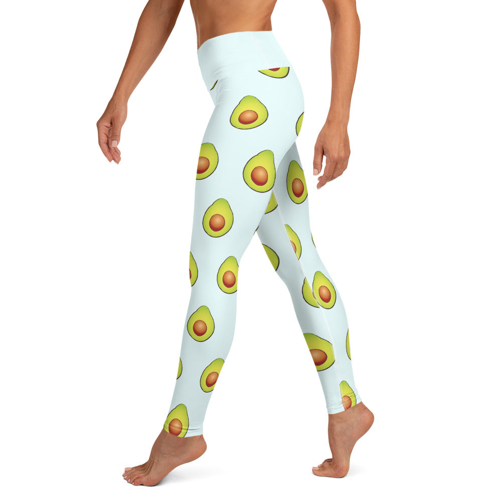 Load image into Gallery viewer, Avocados Yoga Leggings