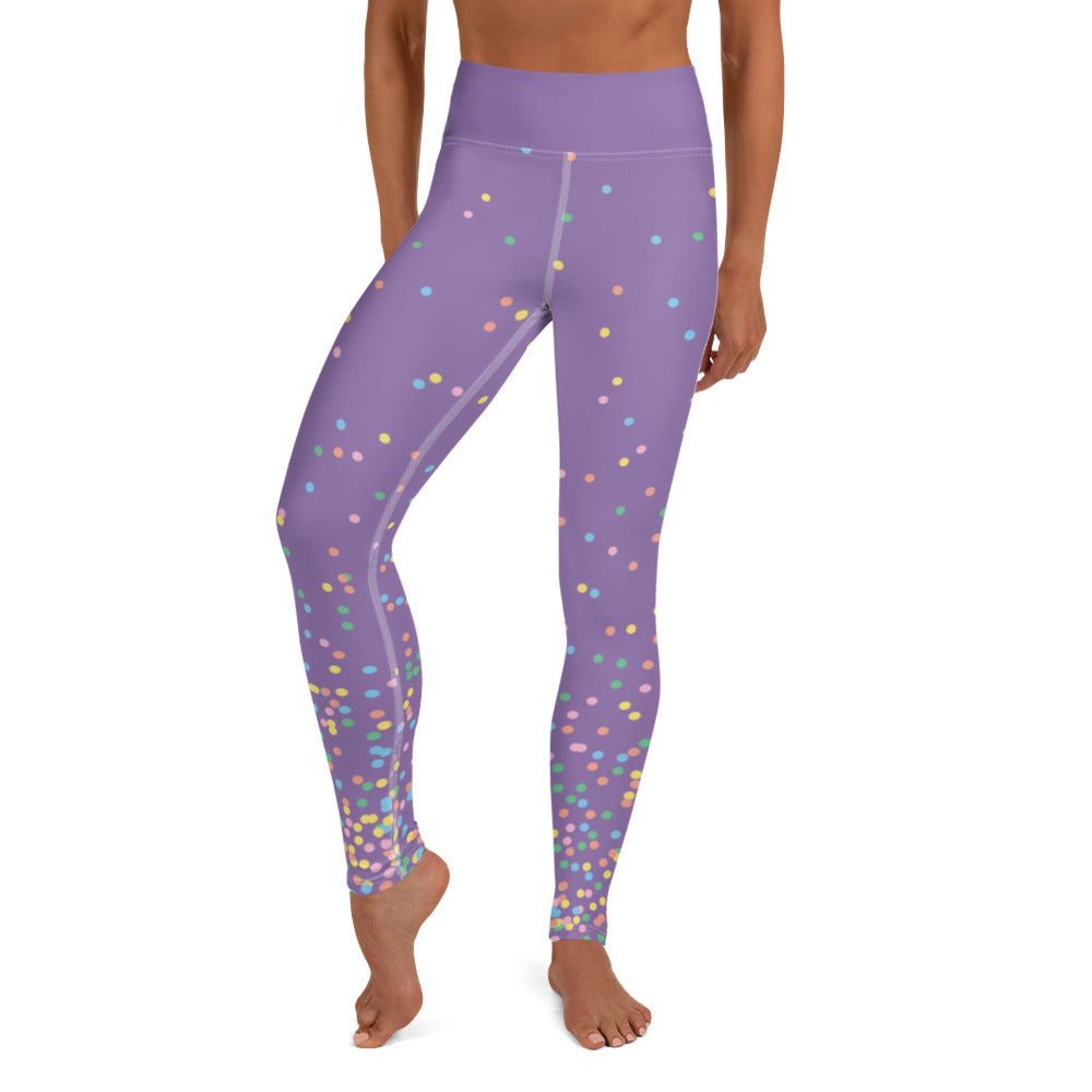 Load image into Gallery viewer, Confetti, Yoga Leggings