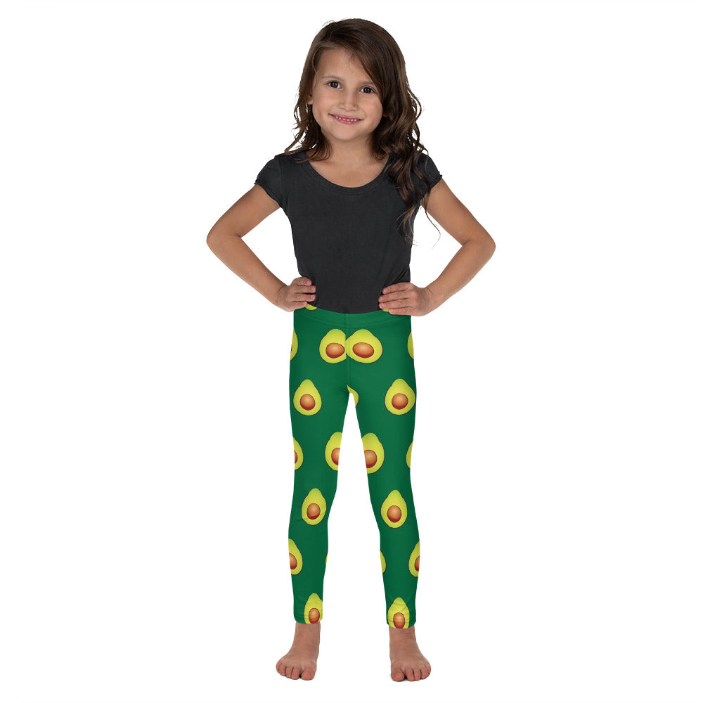 Avocados, Toddler/Kid's Leggings, Dark Green