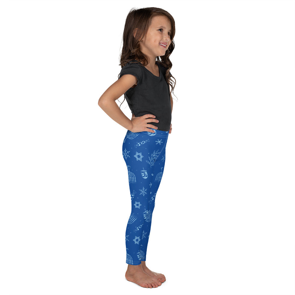 Hanukkah, Toddler/Kid's Leggings