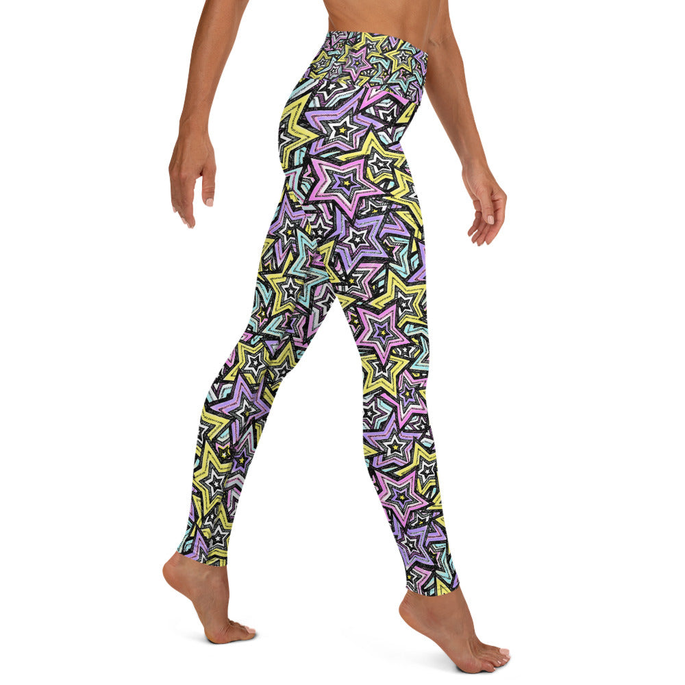 Load image into Gallery viewer, Rock Stars, Yoga Leggings