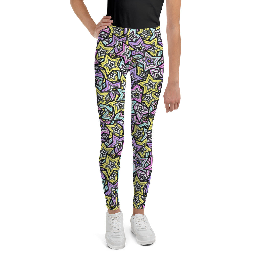 Load image into Gallery viewer, Rock Stars, Kids/Teen Leggings