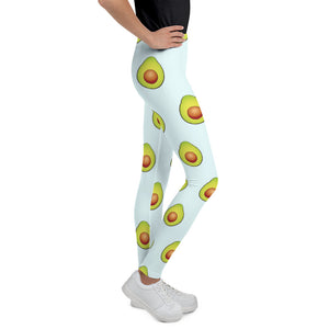 Avocados, Kids/Teens Leggings