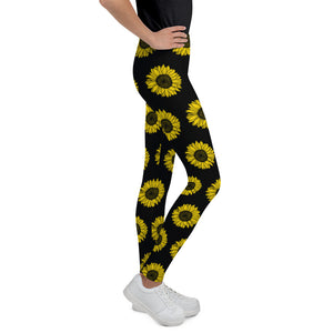 Sunflowers, Kids/Teen Leggings