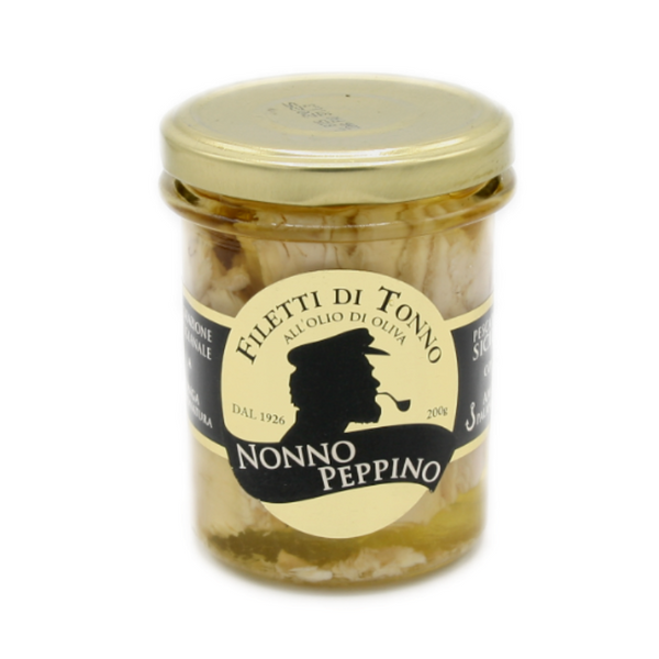 Filetto di tonno siciliano Alalunga all'olio d'oliva - 200g
