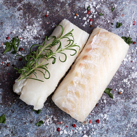 10 x 140-170g Cod Loins Moorcroft Seafood Home Delivery