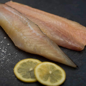 2 x 230g Alfred Enderby's Smoked Haddock portion Moorcroft Seafood Home Delivery