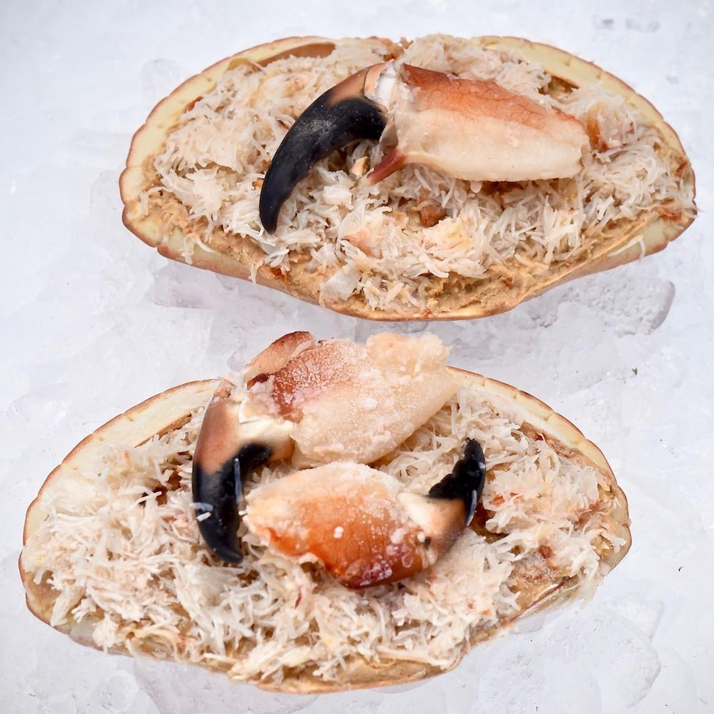 2 x Fresh East Coast Dressed Crabs Moorcroft Seafood Home Delivery