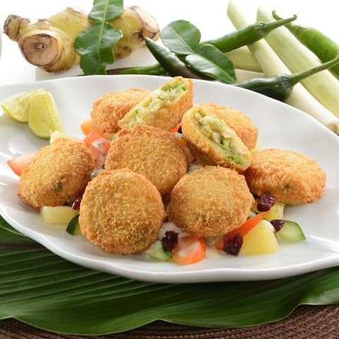 Mini Thai Curry Fishcakes 1kg Moorcroft Seafood Home Delivery