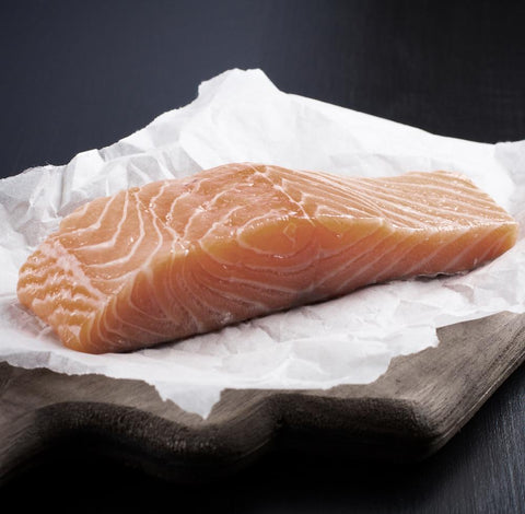 Natural Icelandic Salmon Portions 170-200g Moorcroft Seafood Home Delivery