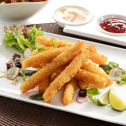 Panko Squid strips 1kg Moorcroft Seafood Home Delivery