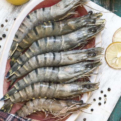 Raw Tiger Prawns 600g Moorcroft Seafood Home Delivery
