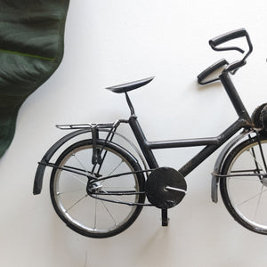 Black VeloSolex Bicycle