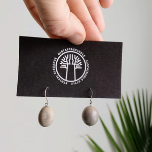 Organic Nickernut Earring