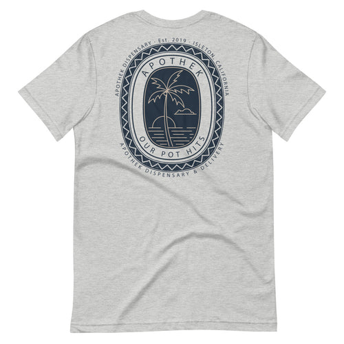 Apothek Stamp Short-Sleeve Unisex T-Shirt