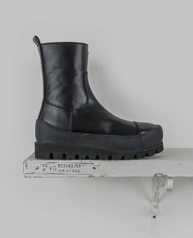 Chunky High-Top Combat Boots